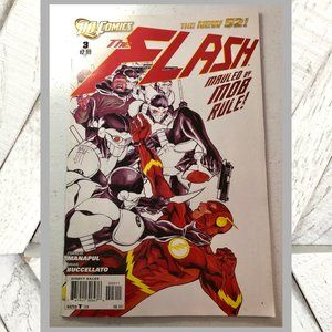2012 DC Comics The Flash No. 3